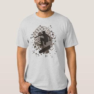 skateboard. hi-fi bubbles. t shirt