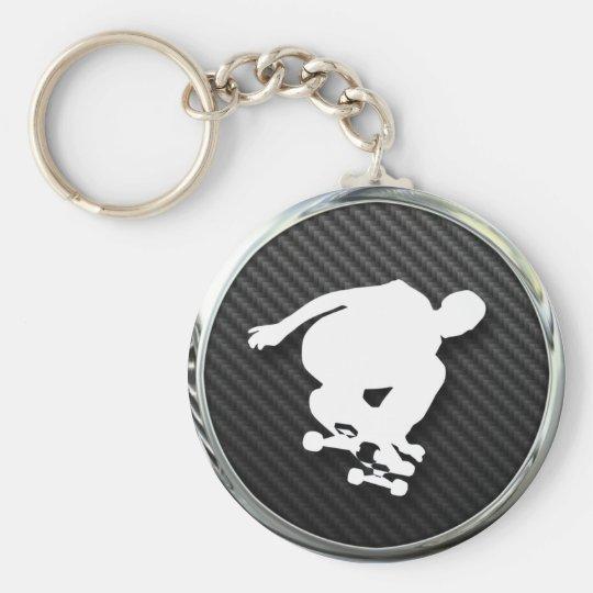 Skateboard Icon Keychain