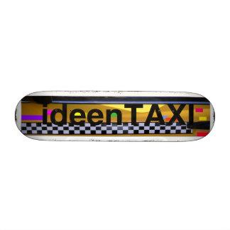 Skateboard idea taxi