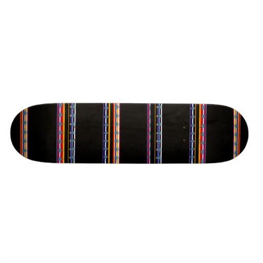 Skateboard Indian Print Skate Board