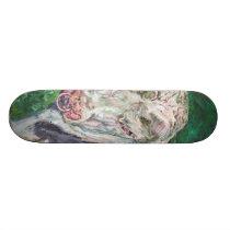 Skateboard - Irish Friesian Bull
