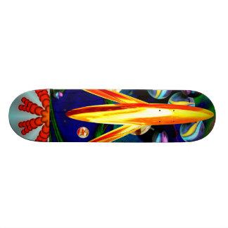 Skateboard L@@K  art deco art collector space rock