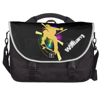 Skateboard Laptop Bag Template