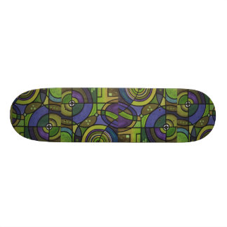 skateboard largely