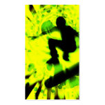 skateboard light explosion Double-Sided standard business cards (Pack of 100)