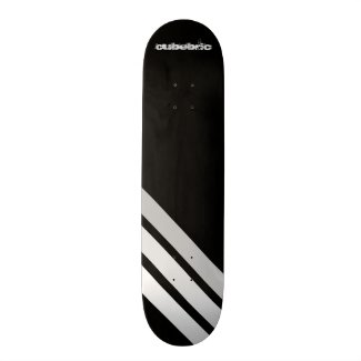 Skateboard Lines Black Cubebric