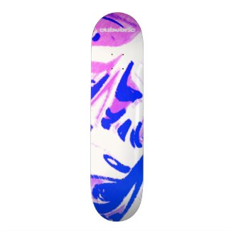 Skateboard Liquid Blue Miami Cubebric