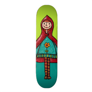 Skateboard, Little Red Riding Hood Skateboard