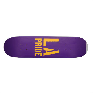 Skateboard Los Angeles LA Pride  (Purple and Gold)