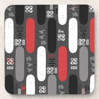 Skateboard Madness (GRB) Beverage Coaster