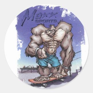 Skateboard Maxx Stickers