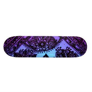 Skateboard mix mehndi