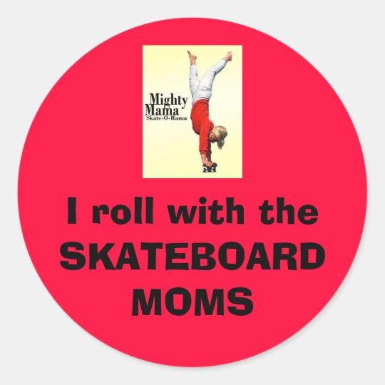Skateboard Moms Sticker