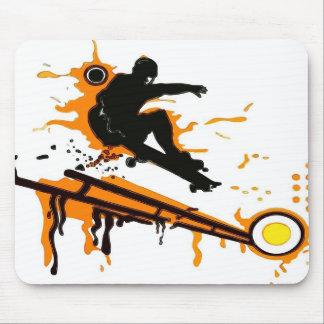 skateboard mouse pad
