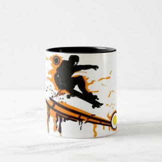 skateboard mug