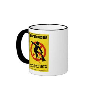Skateboard Mug Yellow