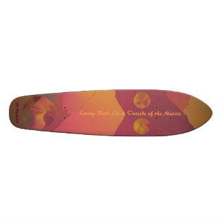 """Skateboard """"No Paradox"""" Art & Typography Special"""