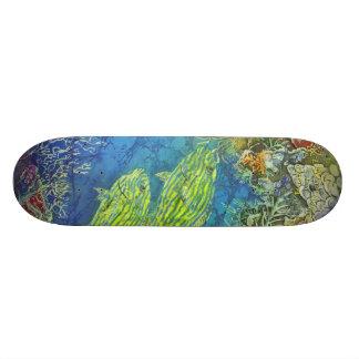 Skateboard - Ocean Dudes-Bluestripers