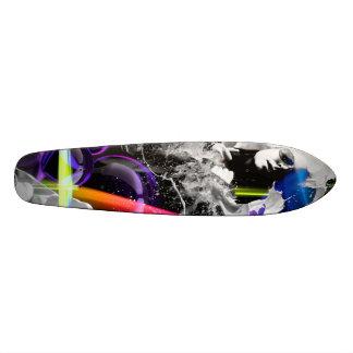 Skateboard Oldschool 70 milk