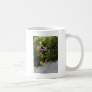 Skateboard on a Ramp Coffee Mug