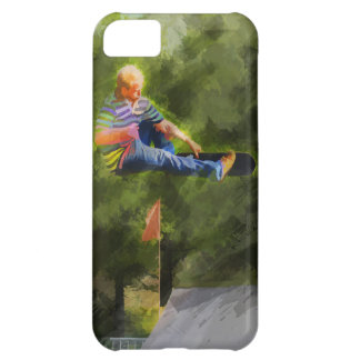 Skateboard on a Ramp Cover For iPhone 5C