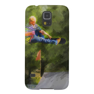 Skateboard on a Ramp Galaxy S5 Cover