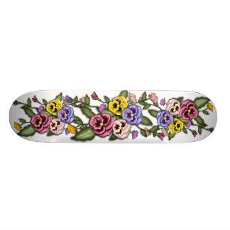 Skateboard Pansy Pansies Flower