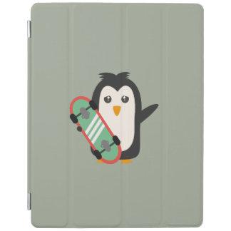 Skateboard Penguin iPad Smart Cover