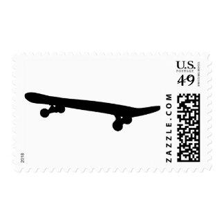 Skateboard Postage Stamp