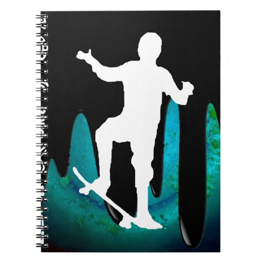 SKATEBOARD PRODUCTS NOTEBOOK