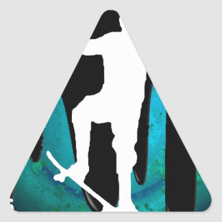 SKATEBOARD PRODUCTS TRIANGLE STICKER