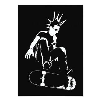 skateboard punk card