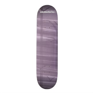 Skateboard Purple Birds Cubebric