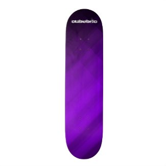 Skateboard Purple Cubebric