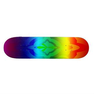 Skateboard, Rainbow Peace Symbol