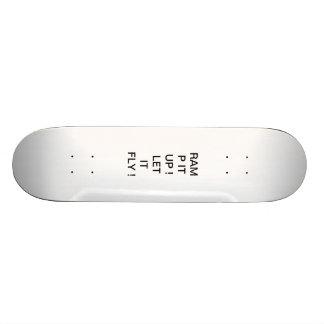 Skateboard, RAMP IT UP! LET IT FLY! Skateboard
