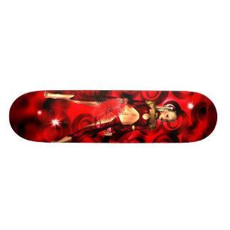 Skateboard Red Venus