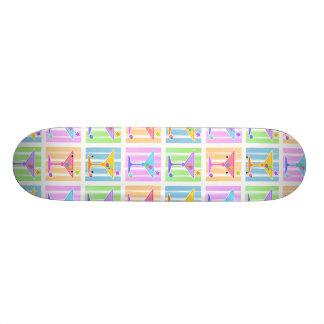 Skateboard - Retro Pop Art Martinis