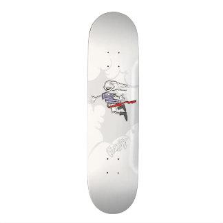 Skateboard Shadow of thief.
