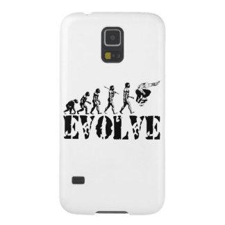Skateboard Skateboarding Evolution Sport Art Galaxy S5 Cases