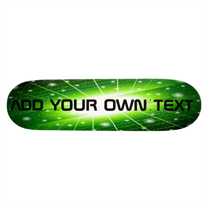 Skateboard - space