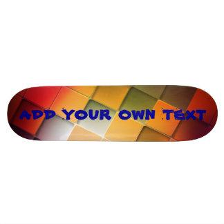 skateboard - square design