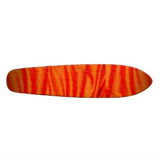 Skateboard striped surfboard style customizeable