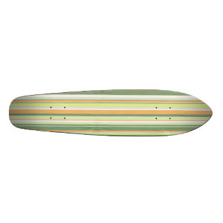 Skateboard striped surfboard style customizeable