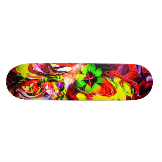 Skateboard talisman clover sheet    Good luck