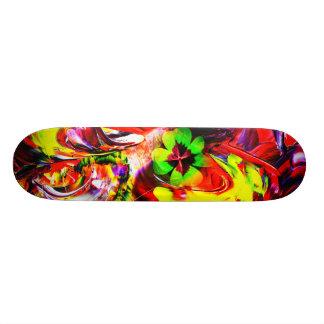 Skateboard talisman clover sheet    Good luck