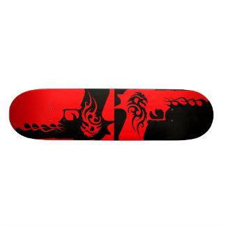 skateboard template 3, two tone guns 2