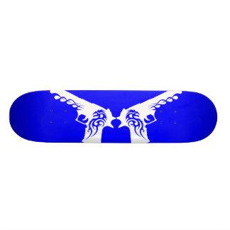 skateboard template 4, white gun 3