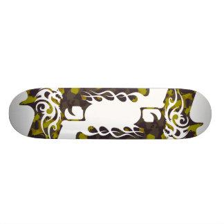 skateboard template, camo gun 5