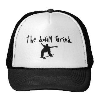 skateboard, The daily Grind. Trucker Hat